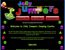 Tablet Preview of jollyjumpers.co.za